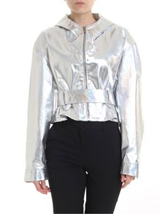 Pinko - The Town jacket in silver colored
