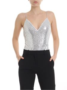 Pinko - Ryan body in silver colored