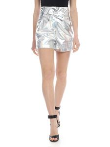 Pinko - Longnights shorts in silver colored