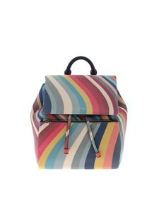 Paul Smith - Swirl multicolor backpack