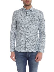 PS by Paul Smith - Slim Fit shirt in white with floral print