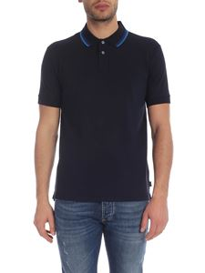 PS by Paul Smith - Blue polo with contrasting details