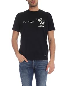 PS by Paul Smith - T-shirt PS Club nera