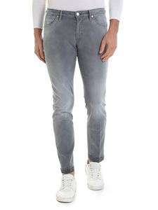 PT05 - Jeans in grey with destroyed details