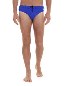 Karl Lagerfeld Beachwear - Basic swimsuit in blue