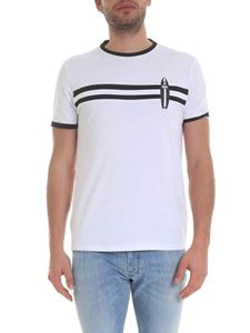 Karl Lagerfeld - Surf T-shirt in white
