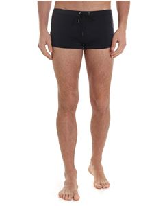 Karl Lagerfeld Beachwear - Trunks boxer swimsuit in black