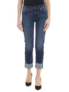 7 For All Mankind - The Relaxed Skinny jeans in dark blue
