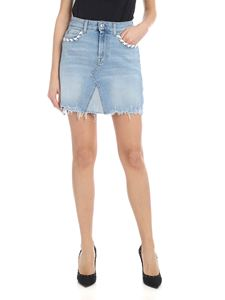 7 For All Mankind - Gonna A-Line azzurra