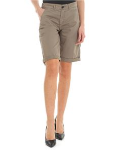 Woolrich - Shorts in khaki green with logo