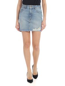 Diesel - De-Elle skirt in light blue