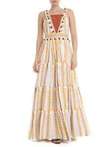 DODO BAR OR - Alicia dress in white and yellow