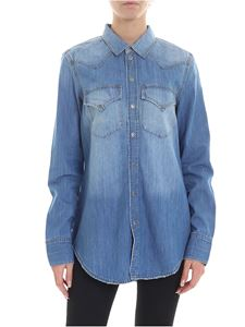 Diesel - De-Ringy shirt in light blue