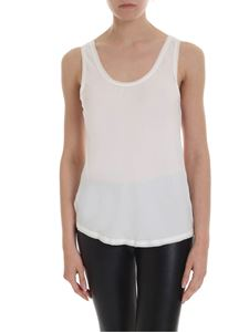 Theory - Scoop Tank top in ivory color