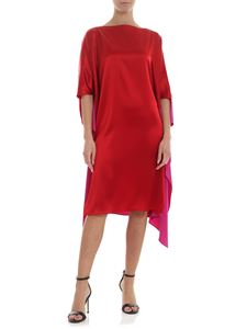Gianluca Capannolo - Olga dress in red and fuchsia