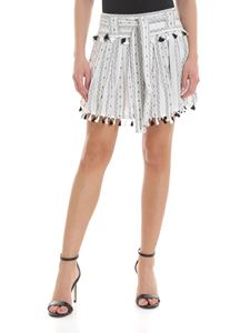 DODO BAR OR - Inga skirt in black and white