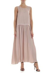 Peserico - Long dress in antique pink