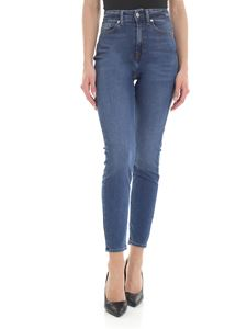 7 For All Mankind - Aubrey B(Air) Capitular jeans in blue