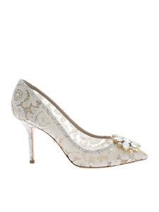 Dolce & Gabbana - Pumps in white Taormina lace