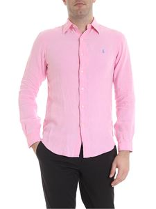 Ralph Lauren - Shirt in pink with logo embroidery