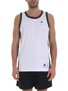 Champion - Mesh tank top in white