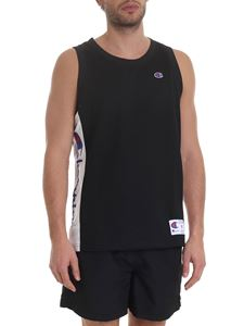 Champion - Mesh tank top in black