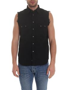 Diesel - Sleeveless shirt D Kiru in black