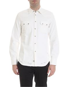 Diesel - D Leo shirt in white denim