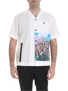 Palm Angels - Bowling Yosemite shirt in white