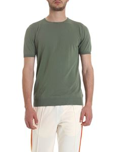 Boglioli - Knit T-shirt in green