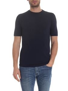 Lardini - Lightweight cotton T-shirt in blue
