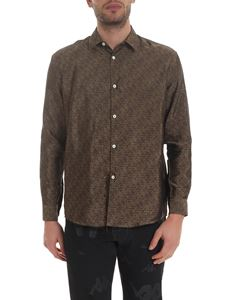 Kappa - Danilo Paura x Kappa Lee shirt in brown