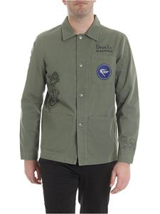 Deus Ex Machina - Walker shirt in army green