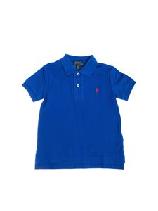 POLO Ralph Lauren - Polo in bluette with logo