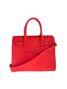 Gaelle Paris - Handbag in red with logo print
