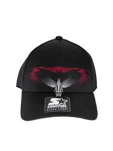 Marcelo Burlon - Starter Wings hat in black