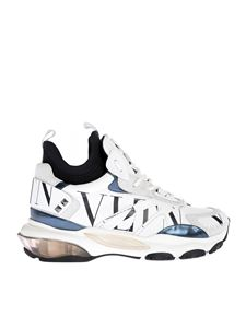 Valentino - VLTN leather sneakers