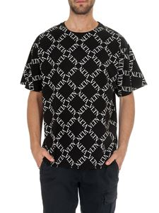 Valentino - VLTN GRID t-shirt in black
