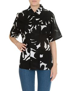 Marni - Floral printed shirt in black cotton