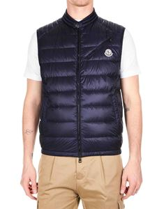 ed36c5d4348c4 Moncler - Arv down jacket in blue nylon