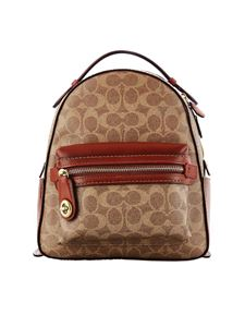 Coach - Campus backpack in printed canvas