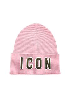 Dsquared2 - Icon beanie in pink