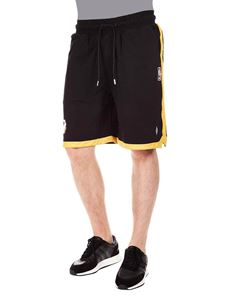 Marcelo Burlon - NBA Lakers shorts in black