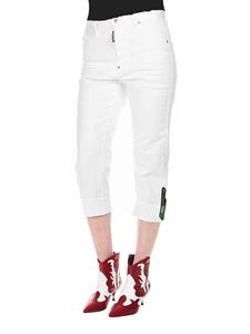 Dsquared2 - Dennis jeans in white cotton