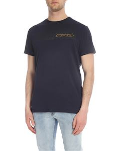 RRD Roberto Ricci Designs - Blue T-shirt with logo print