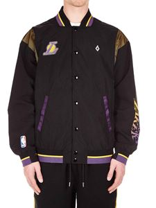 Marcelo Burlon - L.A. Lakers bomber in black