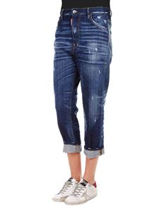 Dsquared2 - Dennis jeans in blue cotton