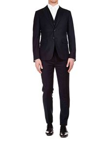 Dsquared2 - Pinstriped suit in blue