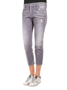 Dsquared2 - Cool Girl Cropped jeans in grigio
