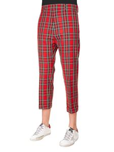 Dsquared2 - Scottish Check Dennis trousers in red